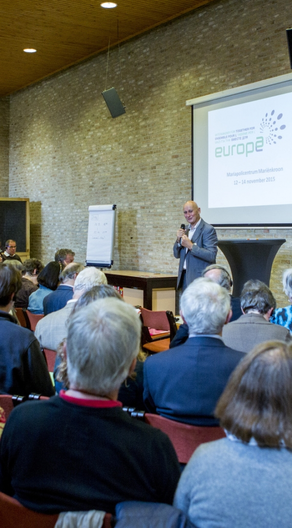 "Ecumenical network ""Together for Europe""calls for Prayer and Commitment for Peace and Love of Neighbour."