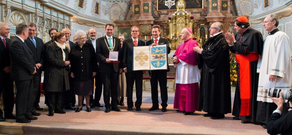 Motivazione del Premio europeo di St. Ulrich a Insieme per l'Europa