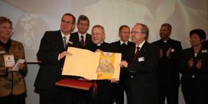 consegna premio ecumenico 2008