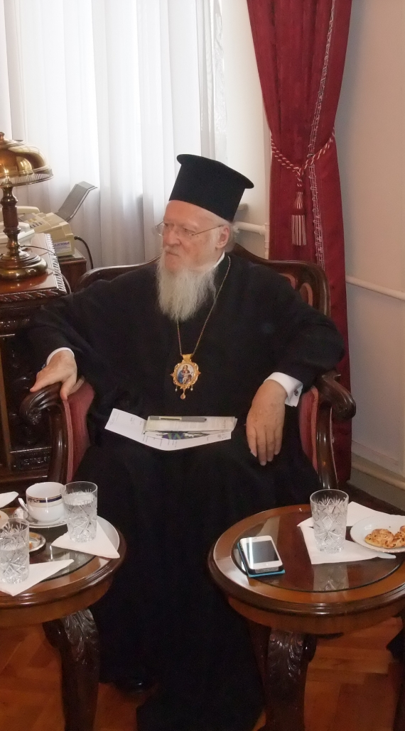 "Patriarch Bartholomew meets ""Together for Europe"""