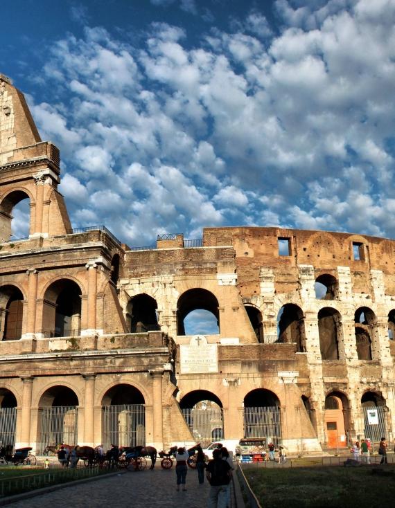 Eine Perspektive aus Italien