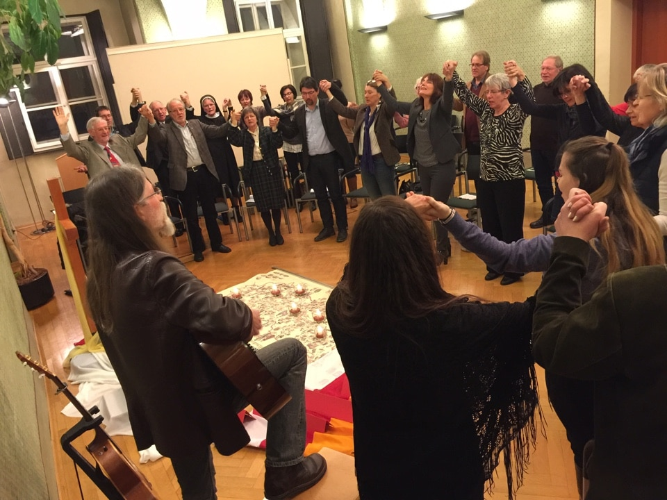 Prayer for Carinthia in the Provincial Government building