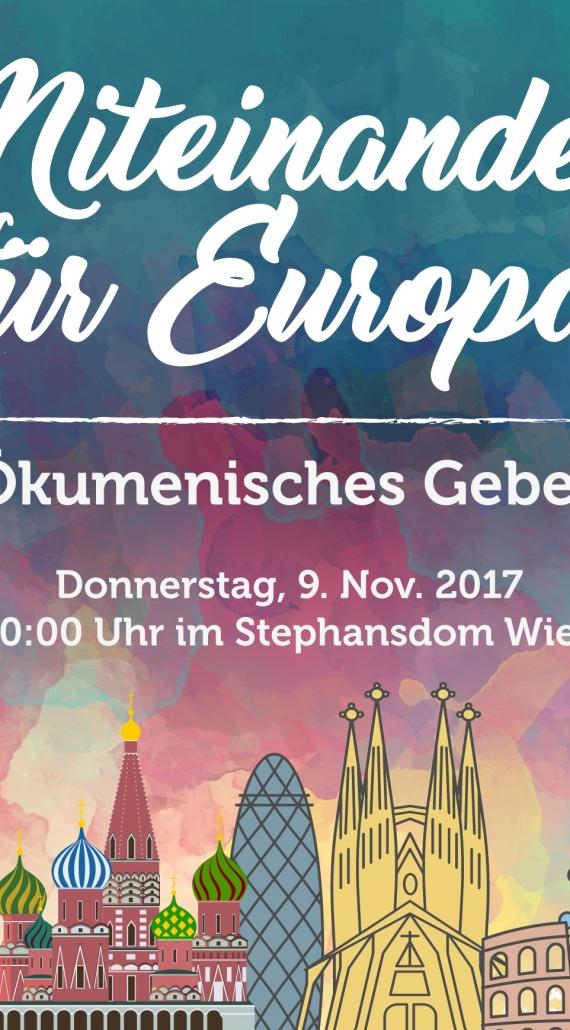 Der Trägerkreis von Miteinander für Europa tagt in Wien