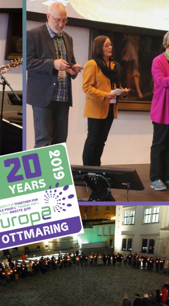 Anniversary celebration in Augsburg